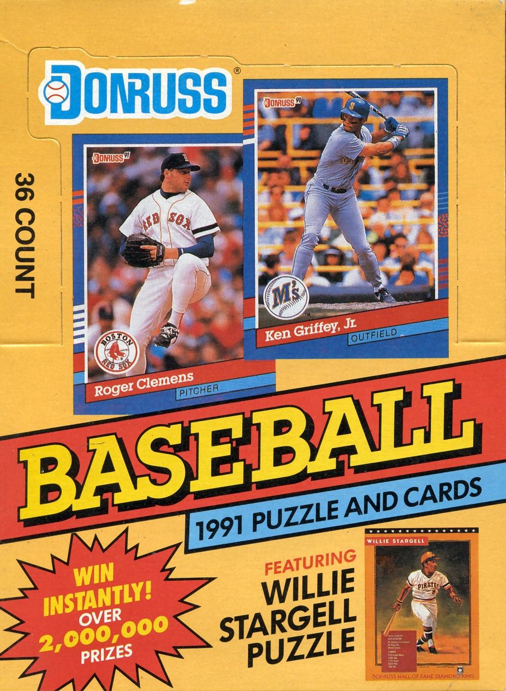 1991 Donruss Baseball Card Reference